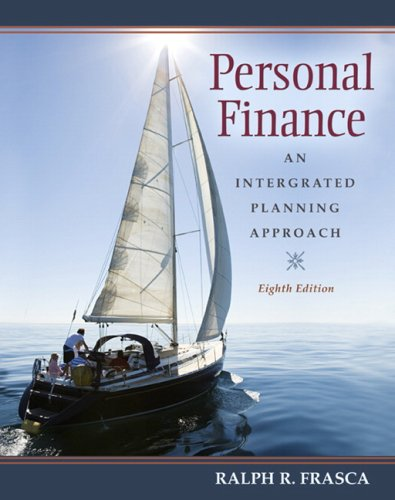 Personal Finance An Integrated Planning Approach 8th 2009 edition cover