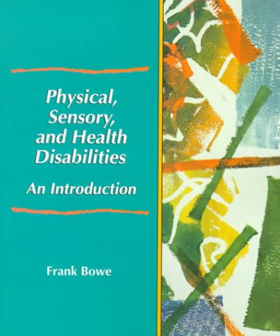 Physical, Sensory, and Health Disabilities An Introduction  2000 edition cover