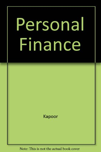 Personal Finance Ready Notes 5th 9780256262032 Front Cover