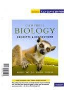 Campbell Biology Concepts and Connections, Books a la Carte Edition 7th 2012 edition cover