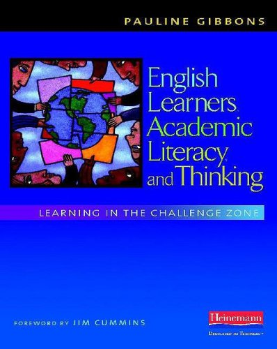 English Learners, Academic Literacy, and Thinking Learning in the Challenge Zone  2009 edition cover