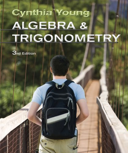 Algebra and Trigonometry  3rd 2013 edition cover