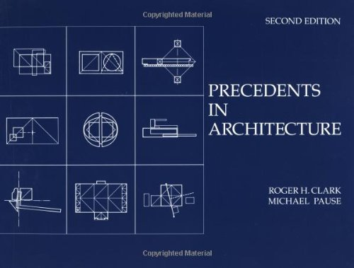 Precedents in Architecture  2nd 1996 edition cover
