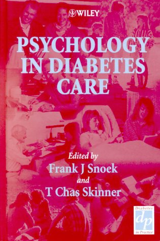 Psychology in Diabetes Care   2000 9780471977032 Front Cover