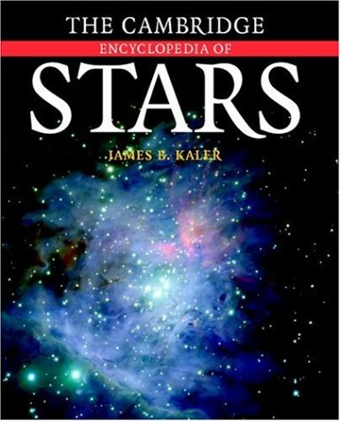Cambridge Encyclopedia of Stars   2006 9780521818032 Front Cover