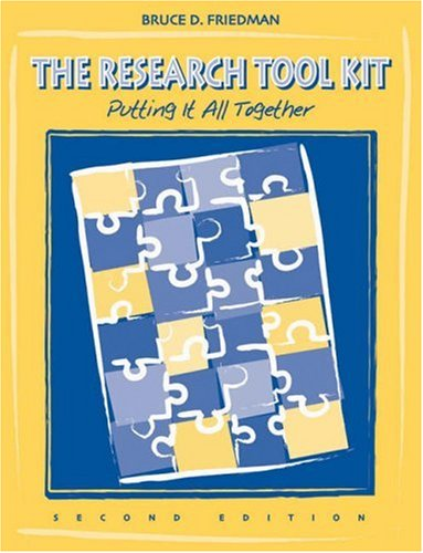 Research Tool Kit Putting It All Together 2nd 2006 (Revised) 9780534407032 Front Cover