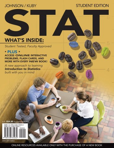 Stat   2010 9780538735032 Front Cover