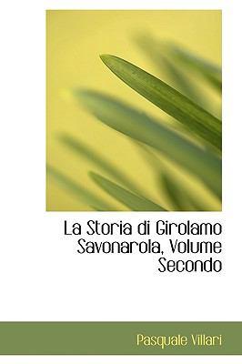 Storia Di Girolamo Savonarola N/A edition cover