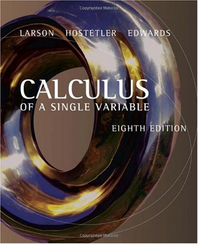 Calculus of a Single Variable  8th 2006 edition cover