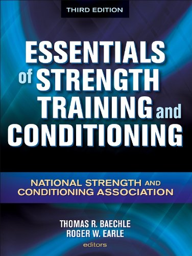 Essentials of Strength Training and Conditioning  3rd 2008 9780736058032 Front Cover