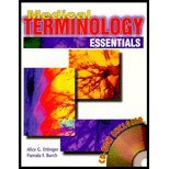 Medical Terminology Essentials 1st 9780763803032 Front Cover