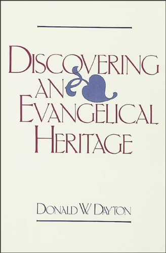Discovering an Evangelical Heritage  N/A edition cover
