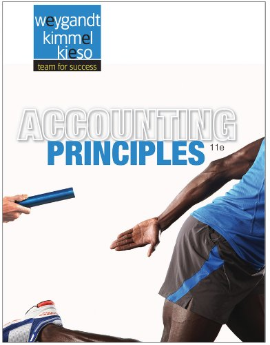Accounting Principles  11th 2013 9781118130032 Front Cover