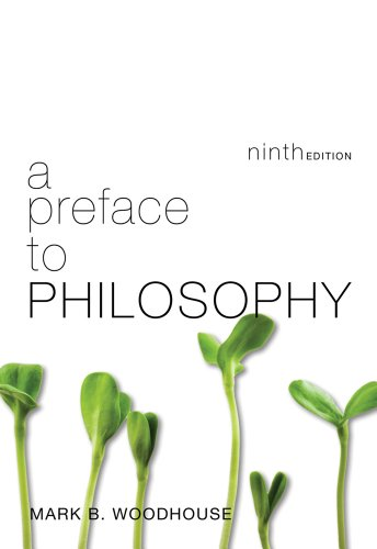 Preface to Philosophy  9th 2013 edition cover
