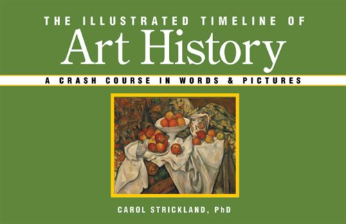 Illustrated Timeline of Art History A Crash Course in Words and Pictures  2006 edition cover