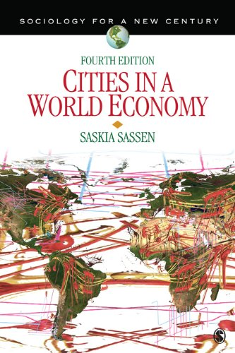Cities in a World Economy  4th 2012 edition cover