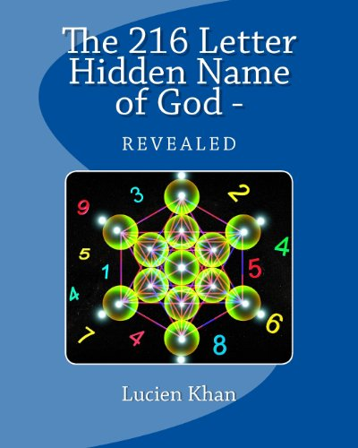 216 Letter Hidden Name of God - Revealed  N/A 9781492162032 Front Cover