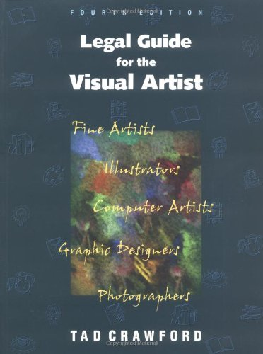 Legal Guide for the Visual Artist  4th 1999 edition cover