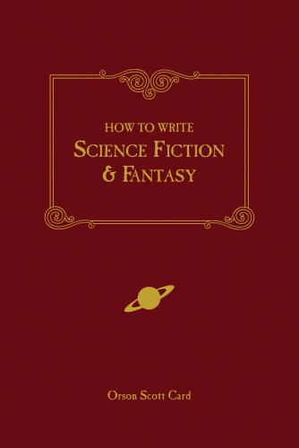 How to Write Science Fiction and Fantasy   2001 (Reprint) edition cover