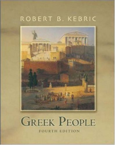 Greek People  4th 2005 (Revised) edition cover