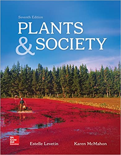 Plants and Society:  7th 2015 edition cover