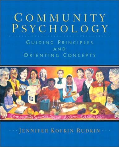 Community Psychology Guiding Principles and Orienting Concepts  2003 edition cover