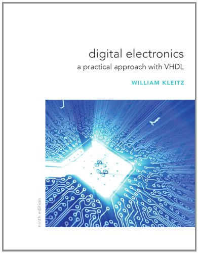 Digital Electronics A Practical Approach with VHDL 9th 2012 edition cover