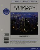International Economics, Student Value Edition Plus NEW MyEconLab with Pearson EText -- Access Card Package  6th 2014 edition cover