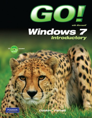Go! with Windows 7 Introductory   2011 edition cover