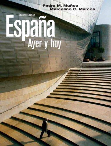 Espa�a Ayer y Hoy  2nd 2010 edition cover