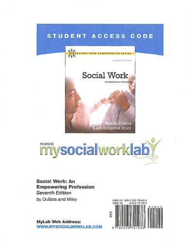 Social Work An Empowering Profession 7th 2011 9780205791033 Front Cover