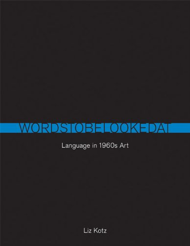 Words to Be Looked At Language in 1960s Art  2010 edition cover