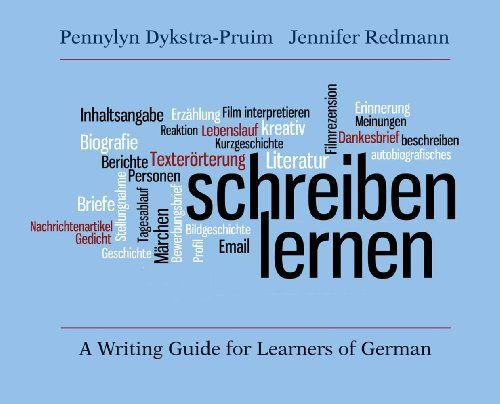 Schreiben Lernen A Writing Guide for Learners of German  2011 edition cover