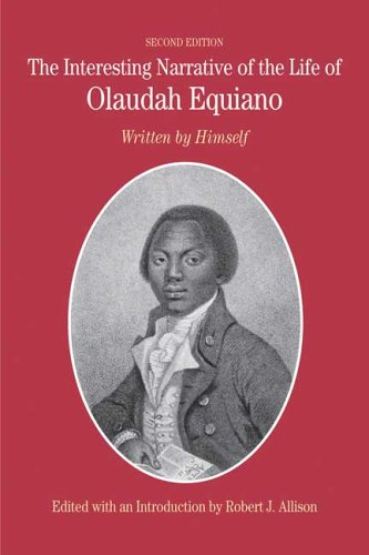 Interesting Narrative of the Life of Olaudah Equiano Written by Himself 2nd 2007 edition cover