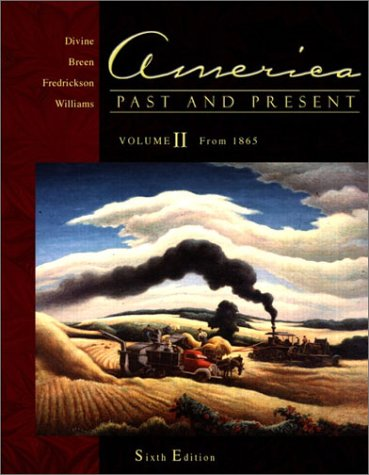 America, Past and Present  6th 2002 (Supplement) 9780321084033 Front Cover