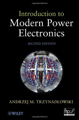 Introduction to Modern Power Electronics  2nd 2010 edition cover
