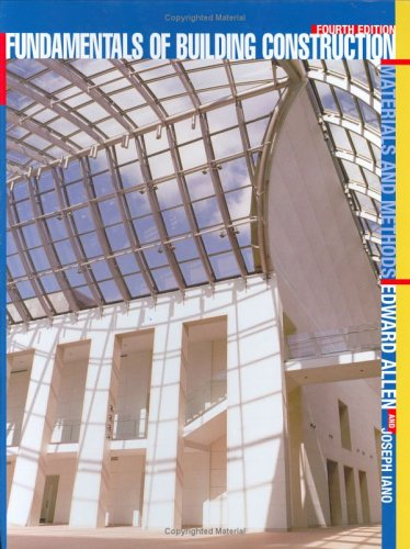 Building Construction Materials and Methods 4th 2004 (Revised) edition cover