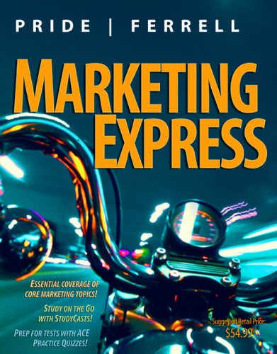 Marketing Express  3rd 2009 9780547060033 Front Cover