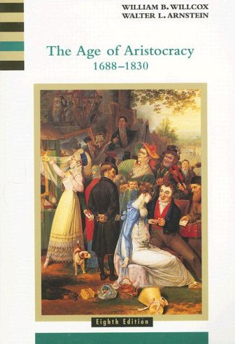 Age of Aristocracy 1688-1830  8th 2001 edition cover
