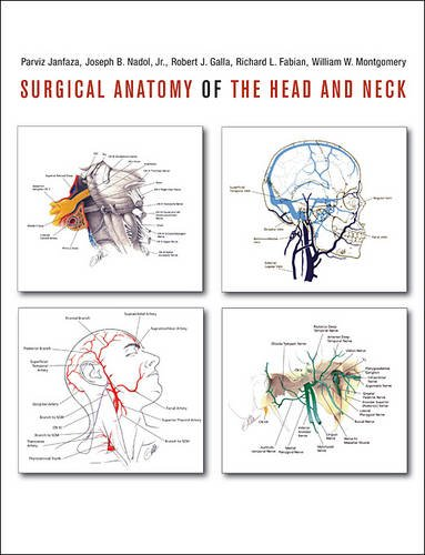 Surgical Anatomy of the Head and Neck   2001 9780674058033 Front Cover