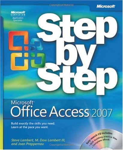 Microsoft� Office Access 2007   2007 (Revised) edition cover