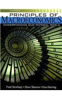 Principles of Macroeconomics Understanding Our Material World 2nd (Revised) 9780757560033 Front Cover