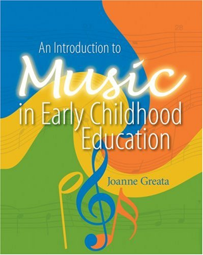 Introduction to Music in Early Childhood Education   2006 edition cover