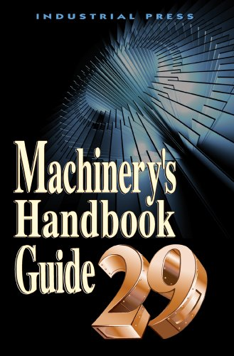 Machinery's Handbook Guide  29th edition cover