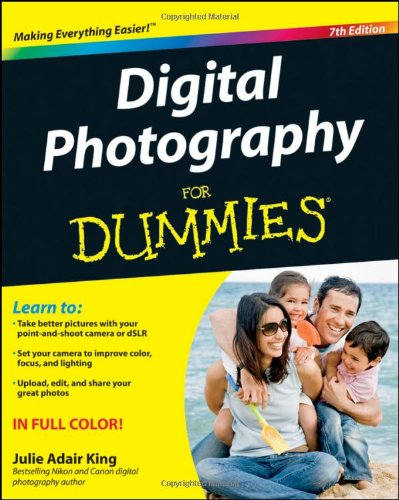Digital Photography for Dummies�  7th 2012 edition cover