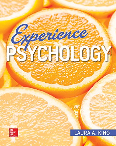Experience Psychology:   2018 9781259911033 Front Cover