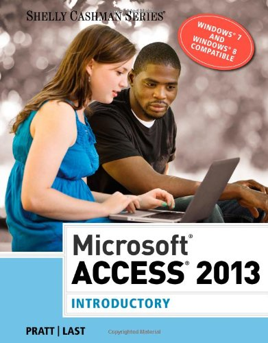 Microsoft� Access 2013, Introductory   2014 edition cover