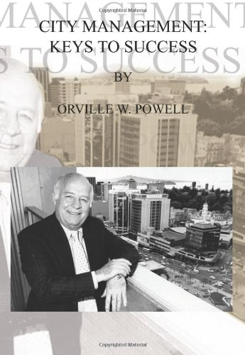 City Management Keys to Success N/A edition cover