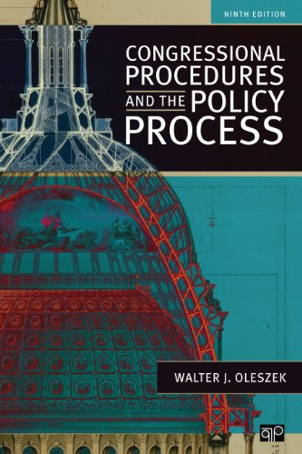 Congressional Procedures and the Policy Process:   2013 edition cover