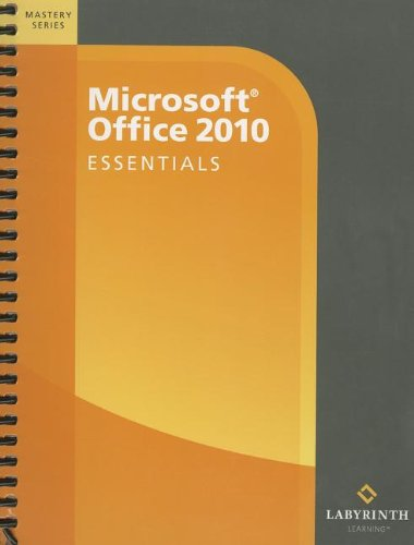 MICROSOFT OFFICE 2010:ESSENTIA N/A edition cover